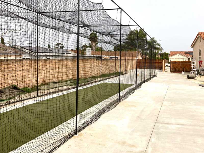 Concrete And Cricket Field